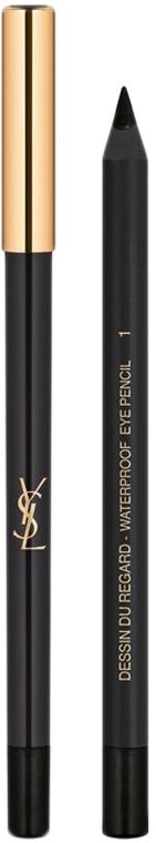 Yves Saint Laurent Dessin du Regard Waterproof - Водостойкий карандаш для контура глаз: купить по лучшей цене в Украине | Makeup.ua