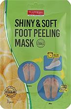 Парфумерія, косметика Шкарпетки педикюрні для пілінгу - Purederm Shiny & Soft Foot Peeling Mask