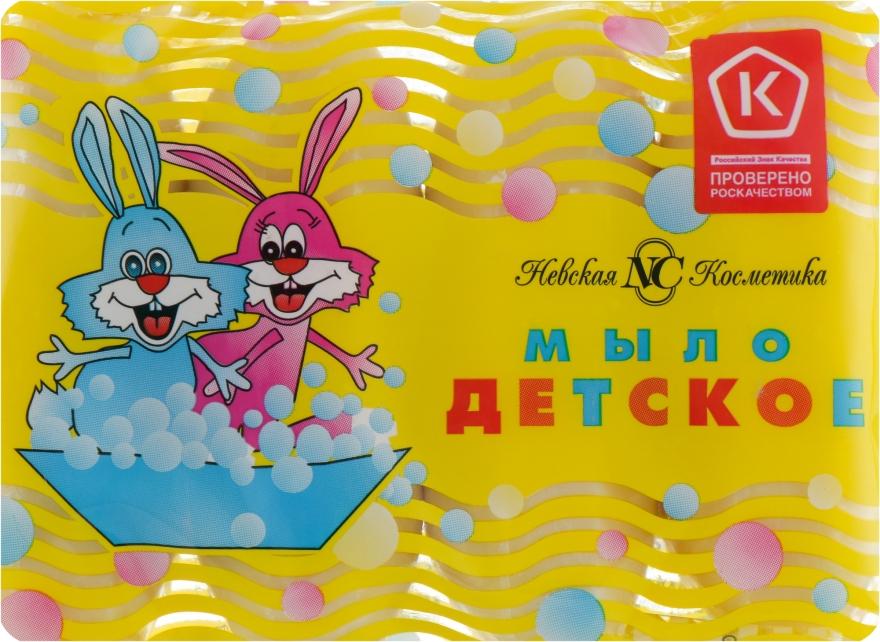 Набор детского мыла без отдушек и красителей - Невская Косметика