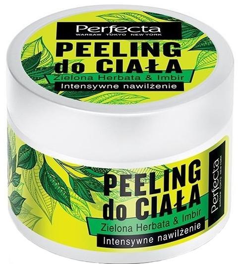 """Скраб для тела """"Зеленый чай и имбирь"""" - Perfecta Green Tea & Ginger Body Scrub"""