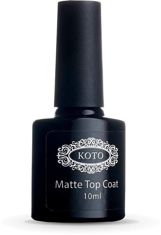 Матовое финишное покрытие - Koto Matte Top Coat