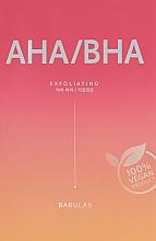 Духи, Парфюмерия, косметика Отшелушивающая тканевая маска с кислотами - Barulab The Clean Vegan AHA/BHA Mask