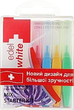 Парфумерія, косметика Щітки - Edel+White Dental Space MIX Brushes