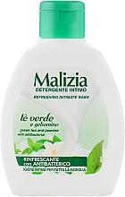 Гель для интимной гигиены - Malizia Intimate Wash Green Tea and Jasmine — фото N2