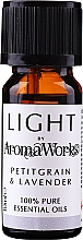"Духи, Парфюмерия, косметика Эфирное масло ""Петитгрейн и лаванда"" - AromaWorks Light Range Petitgrain and Lavender Essential Oil"