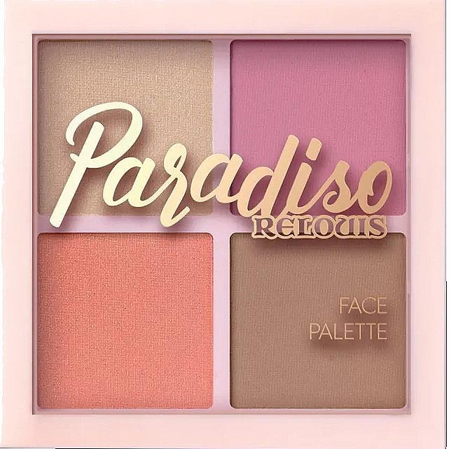Палетка для макияжа лица - Relouis Paradiso Face Palette