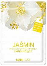 """Духи, Парфюмерия, косметика Успокаивающая тканевая маска для лица """"Жасмин"""" - Lomi Lomi Jasmine Mask"""