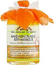 "Духи, Парфюмерия, косметика Масло для тела ""Мандарин"" - Lemongrass House Mandarin Orange Body & Massage Oil"
