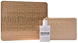 Духи, Парфюмерия, косметика Zadig & Voltaire This Is Her - Набор (edp/50ml + golden pouch)