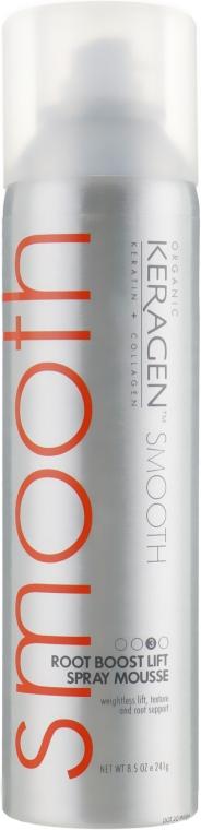 Спрей мусс для объема - Organic Keragen Spray Mousse