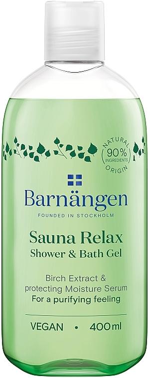 Гель для душа с экстрактом березы для жирной и комбинированой кожи - Barnangen Nordic Rituals Sauna Relax Shower&Bath Gel — фото N1