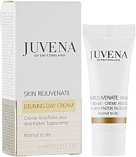 Духи, Парфюмерия, косметика Разглаживающий дневной крем для нормальной и сухой кожи - Juvena Rejuvenate Delining Day Cream Normal To Dry (пробник)