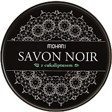 Духи, Парфюмерия, косметика Черное мыло с маслом эвкалипта - Mohani Savon Noir Soap With Eucalyptus Oil