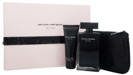 Духи, Парфюмерия, косметика Narciso Rodriguez For Her - Набор (edt/100ml + b/cr/75ml + pouch)