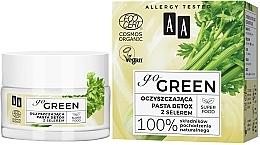 Духи, Парфюмерия, косметика Очищающая детокс-паста с сельдереем - AA Go Green