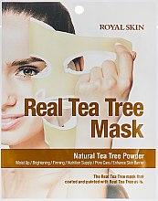 Духи, Парфюмерия, косметика Маска для лица с Чайным деревом - Royal Skin Real Tea Tree Mask