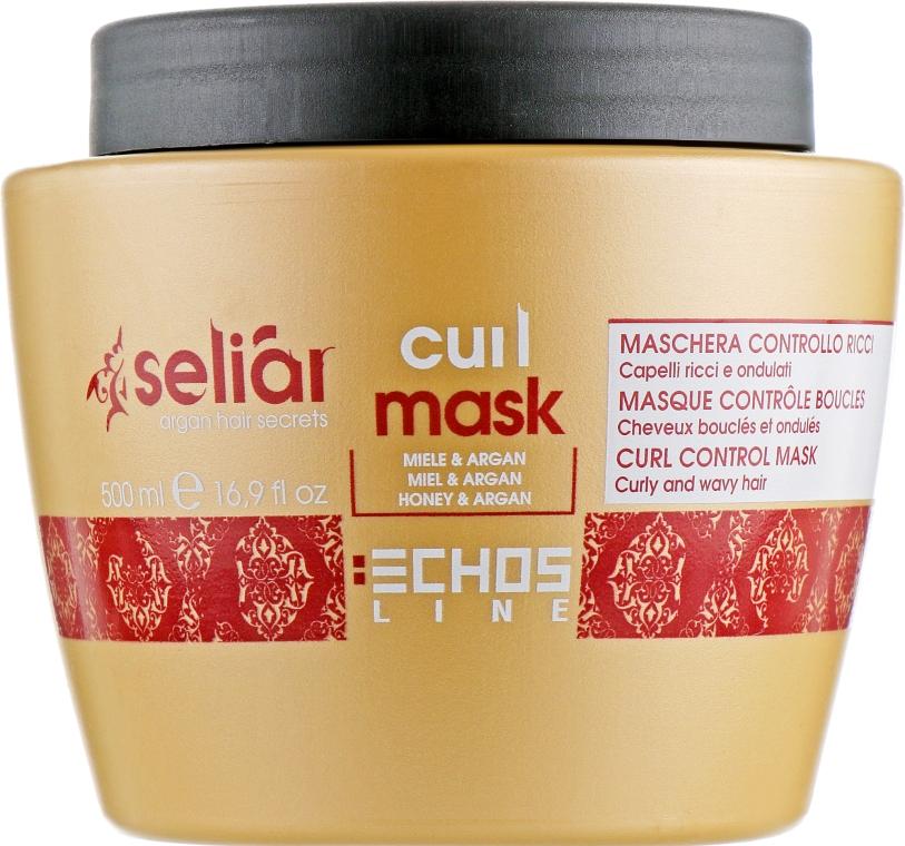 Маска для вьющихся волос - Echosline Seliar Curl Mask