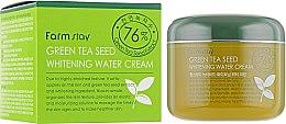 Духи, Парфюмерия, косметика Осветляющий крем с зеленым чаем - FarmStay Green Tea Seed Whitening Water Cream