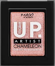 "Духи, Парфюмерия, косметика Кремовые моно-тени для век ""Хамелеон"", 2.5g - Maxi Color Make Up Artist Chameleon Cream Eyeshadow"