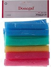 Духи, Парфюмерия, косметика Бигуди-папильоты, разноцветные, 14 шт - Donegal Sponge Rollers