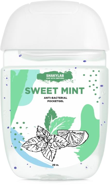 "Антибактериальный гель для рук ""Sweet mint"" - SHAKYLAB Anti-Bacterial Pocket Gel"