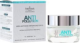 Духи, Парфюмерия, косметика Дневной крем для лица - Farmona Anti Pollution Actively Oxygenating Cream SPF15