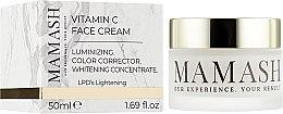 Духи, Парфюмерия, косметика Антиоксидантный крем для выравнивания цвета кожи с витамином С в липосомах - Mamash Vitamin C Face Cream