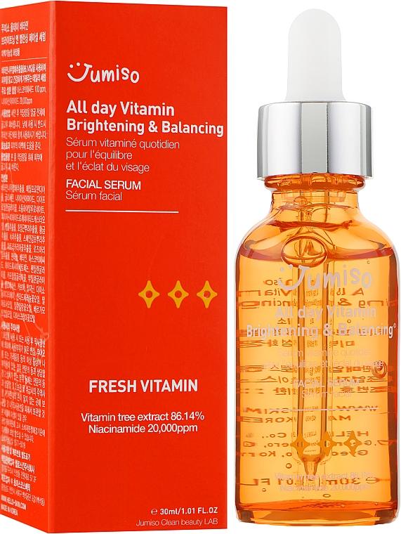 Витаминная сыворотка - HelloSkin Jumiso All Day Vitamin Brightening & Balancing Facial Serum