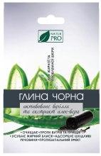 Духи, Парфюмерия, косметика Черная глина с активированным углем и алоэ вера - NaturPro