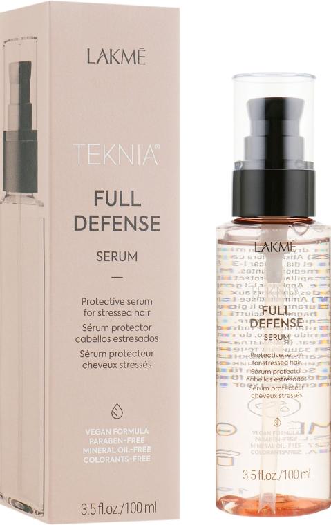 Сыворотка для комплексной защиты волос - Lakme Teknia Full Defense Serum