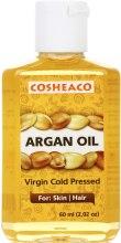 Духи, Парфюмерия, косметика Аргановое масло холодного отжима для тела и волос, нерафинированное - Cosheaco Argan Oil