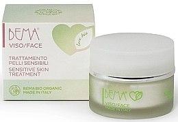 Духи, Парфюмерия, косметика Крем для чувствительной кожи лица - Bema Cosmetici Love Bio Sensitive Skin Treatment
