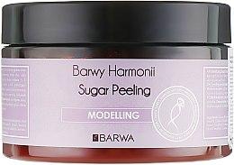 "Духи, Парфюмерия, косметика Сахарный пилинг для тела ""Моделирующий"" - Barwa Harmony Sugar Peeling Modelling"