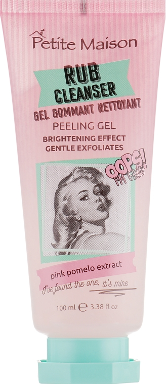 Очищаючий гель-пилинг для лица - Petite Maison Rub Cleanser Peeling Gel