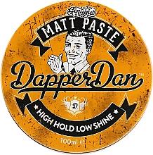 Духи, Парфюмерия, косметика Паста для укладки волос матовая - Dapper Dan Matt Paste