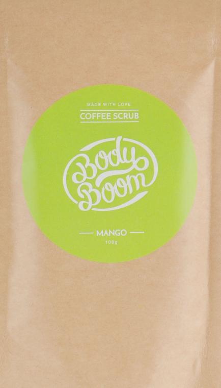 Кофейный скраб, манго - Body Boom Coffee Scrub Mango