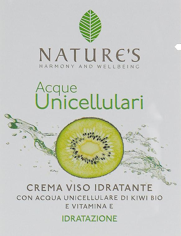 Увлажняющий крем для лица - Nature's Acque Unicell (пробник)