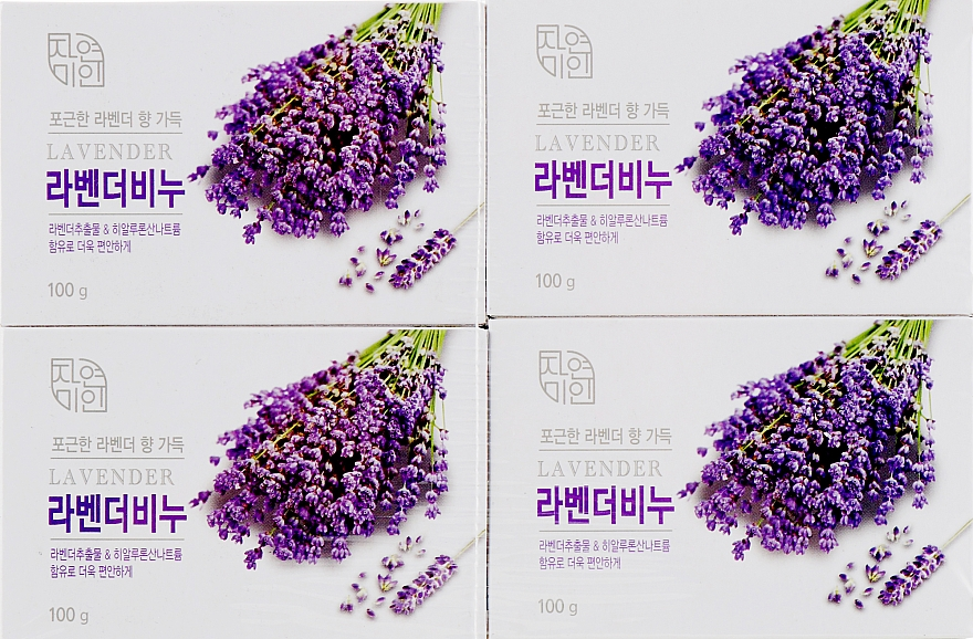 "Мыло для лица и тела ""Лаванда"" - Mukunghwa Lavender Nature & Beauty Soap"