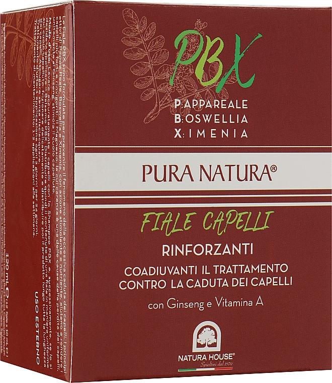 Комплекс для волос восстанавливающий с РВХ - Natura House