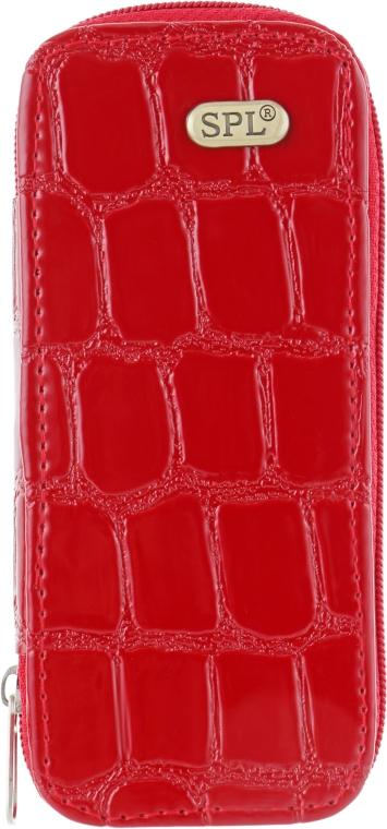 Маникюрный набор, 8 предметов, красный крокодил, SPL77602A - SPL