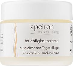 Духи, Парфюмерия, косметика Увлажняющий дневной крем для нормальной и сухой кожи - Apeiron Moisturizing Cream