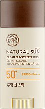Духи, Парфюмерия, косметика Солнцезащитный стик - The Face Shop Natural Sun Eco Clear Sunscreen Stick