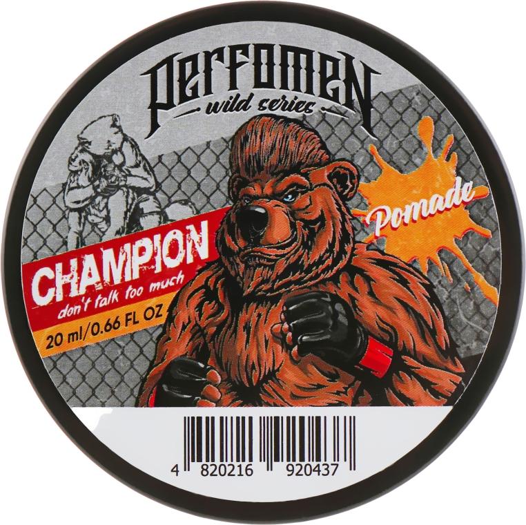 Помада для укладки волос - Perfomen Wild Series Champion Pomade
