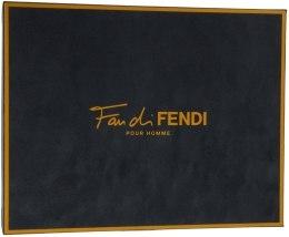 Духи, Парфюмерия, косметика Fendi Fan di Fendi Pour Homme - Набор ( edt 100ml + s/g 100ml)