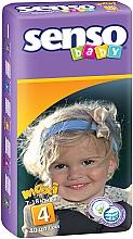 Духи, Парфюмерия, косметика Подгузники Senso Baby Maxi 4 (7-18 кг), 40 шт - Senso Baby
