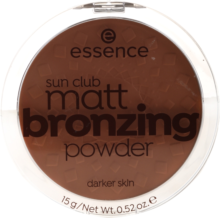 Бронзирующая пудра - Essence Sun Club Matt Bronzing Powder — фото N1