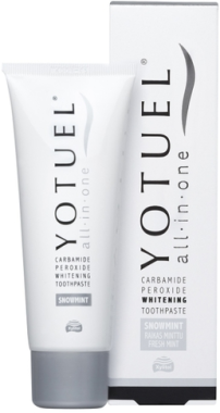 Отбеливающая зубная паста - Yotuel All in One Snowmint Whitening Toothpaste
