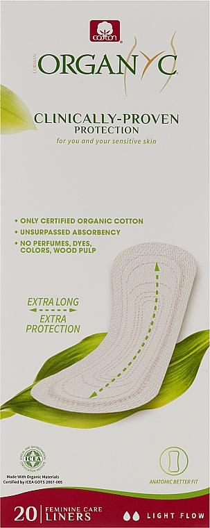 Ежедневные гигиенические прокладки, 20 шт - Corman Cotton Organyc Panty-Liners Maxi