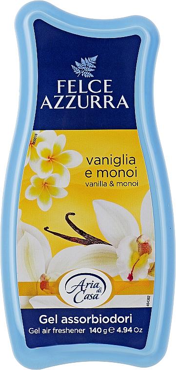 Освежитель - Felce Azzurra Gel Air Freshener Vanilla & Monoi