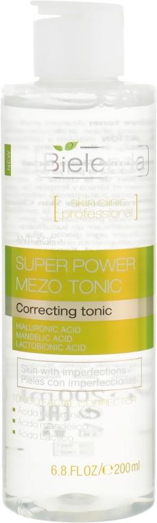 Активный корректирующий тоник - Bielenda Skin Clinic Professional Mezo